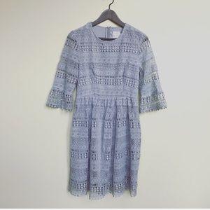 Anthropologie HD in Paris Crochet Lace Dress S